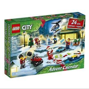 NIB Lego City Advent Calendar Holiday 2020 Set